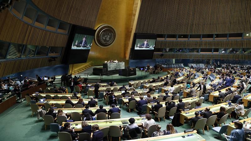 外媒:联合国紧急会议通过保护巴勒斯坦平民决议