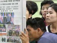 朝鲜民众密切关注朝美首脑会晤新闻