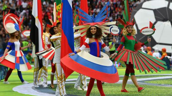 俄罗斯为世界呈上绿茵盛宴 外媒:气氛热烈一票难求