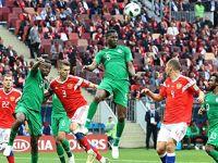 揭幕战:俄罗斯队胜沙特阿拉伯队