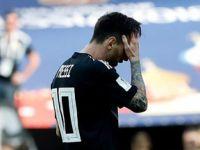 【世界杯】失意的梅西