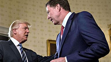 """特朗普""""通俄门""""调查横生枝节,FBI""""吃了一张黄牌""""?"""