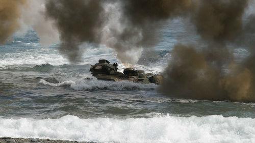 美韩暂停8月联合军演 外媒:美国解除对朝敌对第一项决定