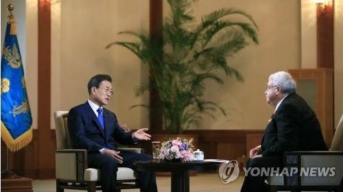 外媒:文在寅促朝美加速落实峰会成果 韩朝领导人今秋或平壤会晤