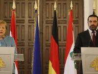 德国总理默克尔访问黎巴嫩