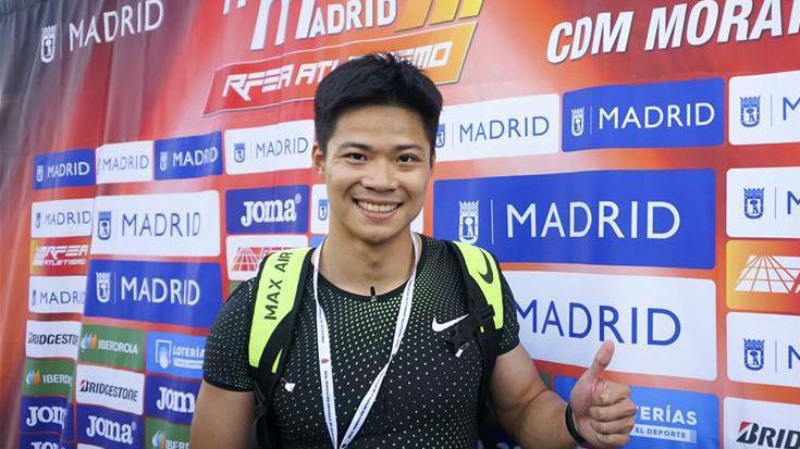 世界挑战赛马德里站:苏炳添9秒91平百米亚洲纪录