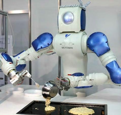 英媒:机器人接手餐厅 点外卖可能比在家烹饪更省钱