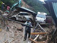 越南北部强降雨引发洪水和山体滑坡致7人死亡
