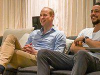 英国威廉王子和约旦王储