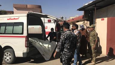 """伊拉克发现8具被""""伊斯兰国""""绑架人员的尸体"""