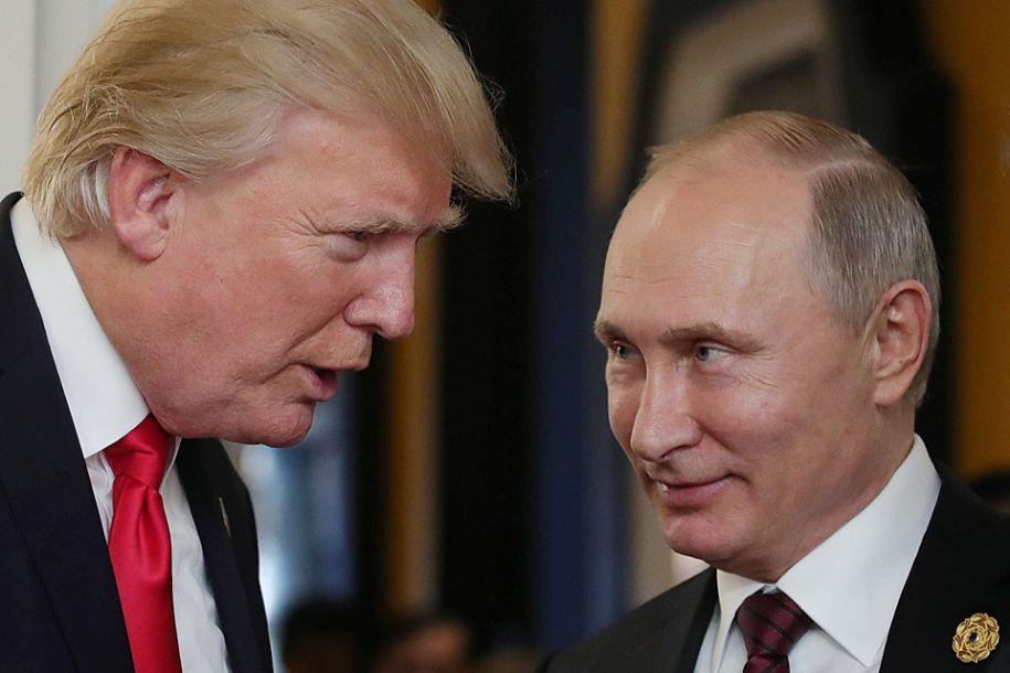外媒:普京与特朗普或在赫尔辛基会晤