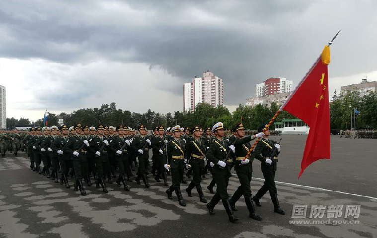 解放军仪仗队将赴白俄罗斯参加独立日阅兵