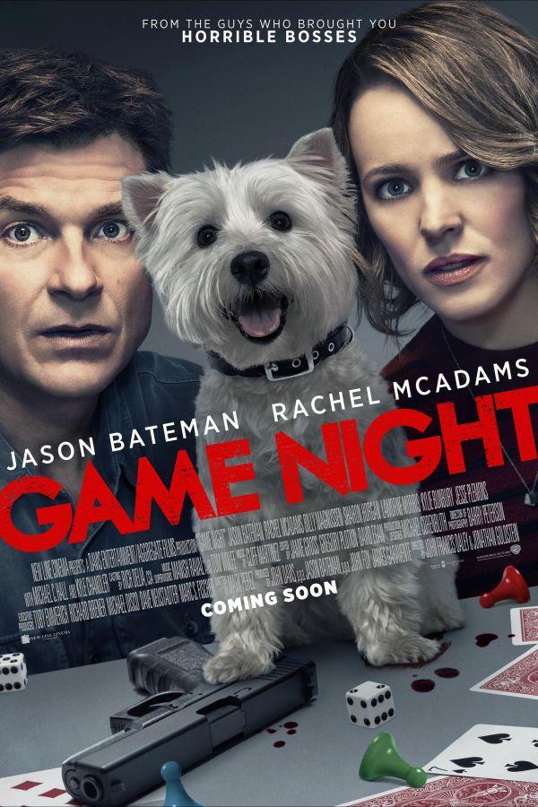 喜剧《游戏之夜》北美电影海报