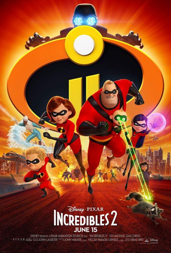 《超人总动员2》北美电影海报