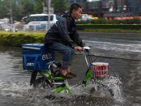 北京突降雷阵雨