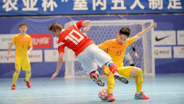 港媒:五人制足球或助中国圆梦世界杯