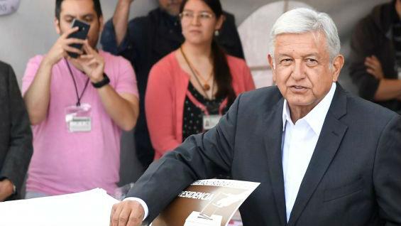 外媒:执政党支持率下跌惨重 左翼政党或首次赢得墨西哥大选