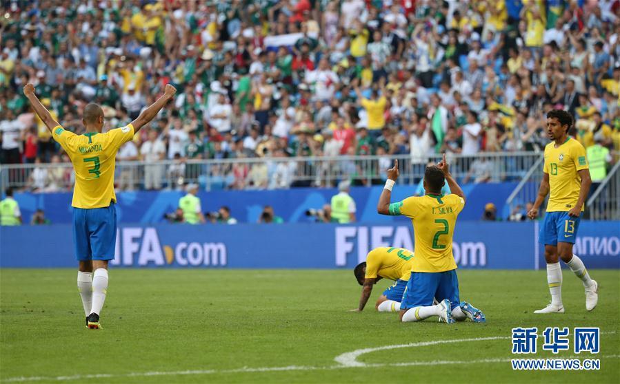 内马尔建功助巴西稳进八强 日本憾败比利时被赞亚洲荣光