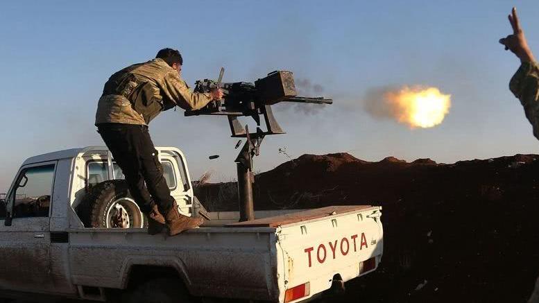 """美国""""背叛"""" 俄叙以武促变:库尔德武装或转投巴沙尔"""