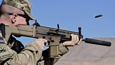无声杀手!世界名枪加装消声器比颜值