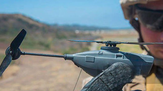 只有口袋大小!美军配备世界最小单兵无人机