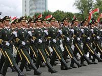 解放军仪仗队亮相白俄罗斯独立日阅兵式