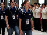 韩国代表团抵达朝鲜开展篮球外交