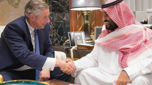 """立志经济转型!德媒称沙特王储请来德国""""军师"""""""