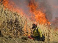 美国加州北部山火面积扩大