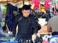 泰国清莱救援现场的中国身影