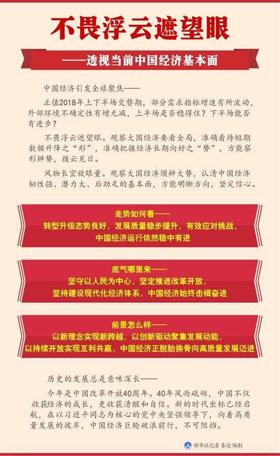 不畏浮云遮望眼——透视当前中国经济基本面