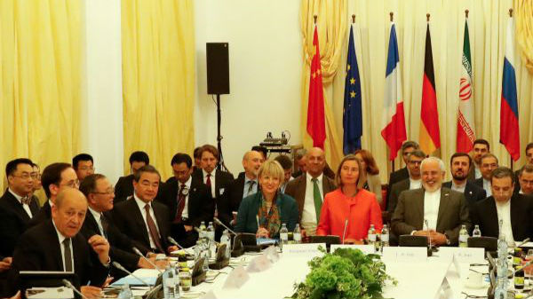 外媒关注五大国与伊朗磋商维持核协议:抗衡美国制裁