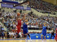 朝韩在平壤举行篮球友谊赛