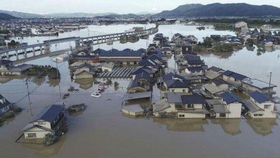 境外媒体:日本西部暴雨已致91人死亡 约590万人撤离