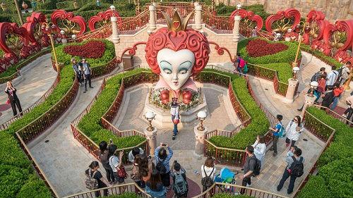 美媒从上海迪士尼乐园看中国巨变:具有鲜明中国特色