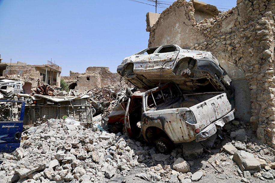 废墟中的艰难重生路——摩苏尔解放一周年回访记
