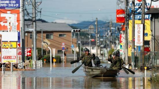 外媒:日本西部暴雨已造成141人死亡 至少10人失踪