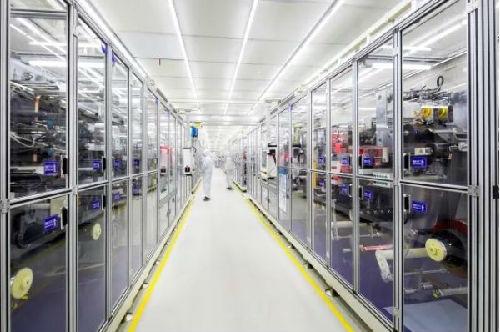宁德时代CATL总部电池生产基地