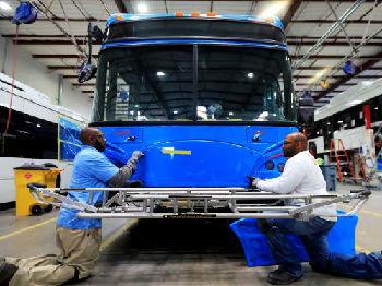 出海记|比亚迪在美国组建合资公司 试水电动巴士租赁市场