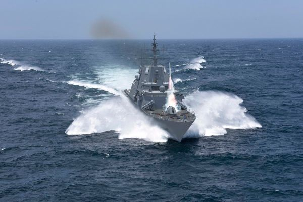 图为洛马公司提出的FFG(X)型护卫舰方案