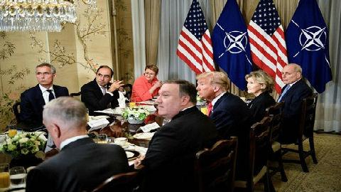 白宫办公厅主任对特朗普炮轰德国恼火?白宫回应:早饭没吃好