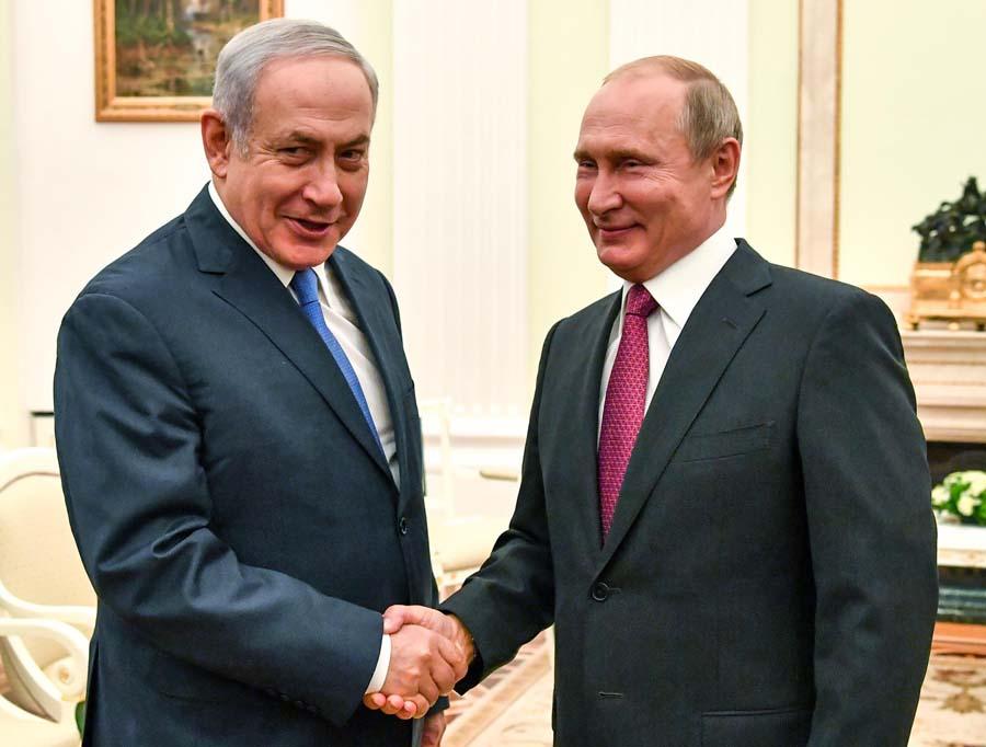 俄以领导人会晤讨论双边和国际问题
