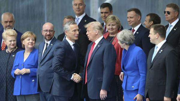 特朗普自称在北约峰会