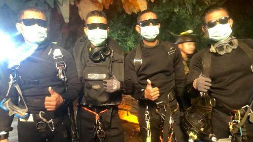 台媒:泰国洞穴救援曾突发抽水机故障 救援险以惨剧收场