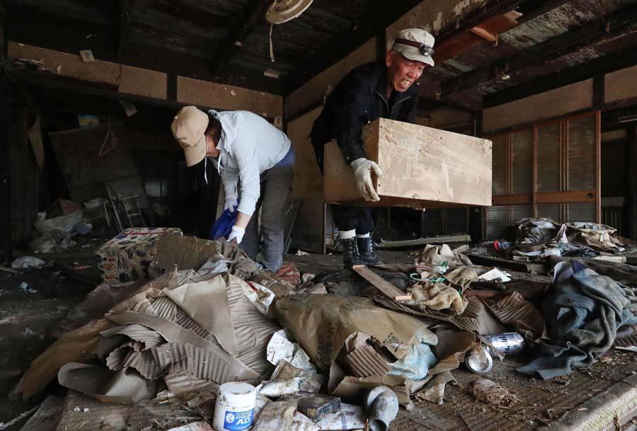 日本暴雨灾害造成的影响仍在继续