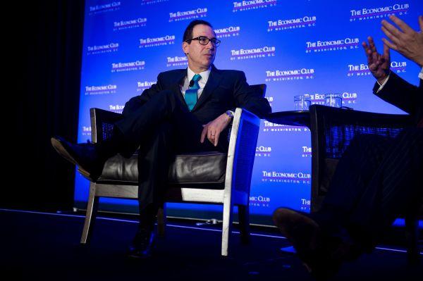 """新媒:美财长否认在打""""贸易战"""" 称中美有重启谈判可能"""