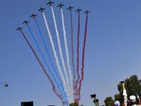 法国举行国庆阅兵仪式