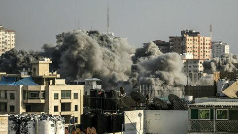 以对加沙发动4年来最猛烈空袭 哈马斯称已达成停火协议