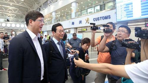 韩媒:韩前总统金大中之子访朝 将讨论民间交流