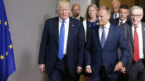 """特朗普""""敌人论""""引震惊 欧盟:这是在散布假新闻"""